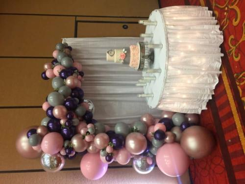 Quinceañera Celebration - Organic Garland