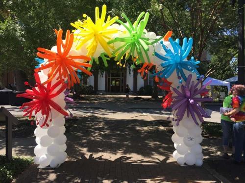 Boro Pride Festival Firecracker Arch